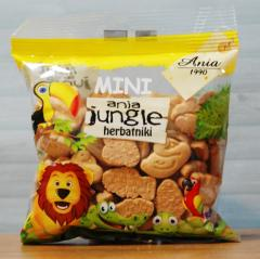 Herbatniki mini jungle 100g - Ania