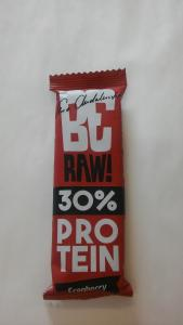Baton raw! protein 30% cranberry 40g - BeRaw