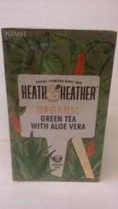 Herbata ekologiczna Green Tea with aloe vera 30g - Heath&Heath