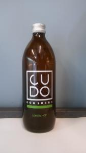 Kombucha lemon hop 500ml - Cudo